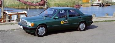 Mercedes-Benz 190 E Elektro, o cuando Mercedes-Benz experimentó con las bases de sus futuros coches eléctricos