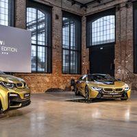 Los BMW i3 y BMW i8 Starlight Edition: Dos one-off vestidos con oro de 24 kilates por la ciencia