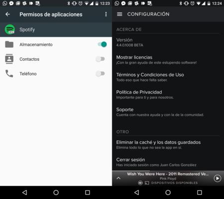 Spotify tiene un pequeño bug en Android 6.0 Marshmallow, así se soluciona
