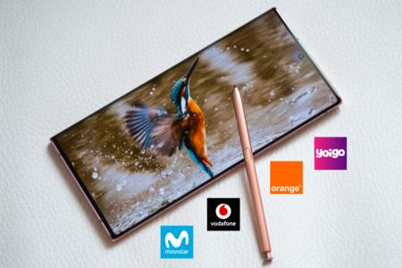 Dónde comprar los Samsung Galaxy Note20 más baratos: comparativa ofertas con Movistar, Vodafone, Orange y Yoigo