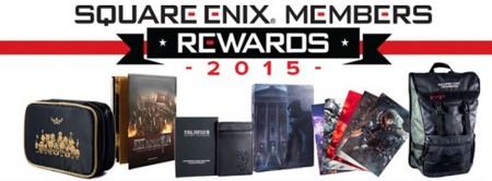 """Los """"Square Enix Members"""" ya pueden elegir sus recompensas"""