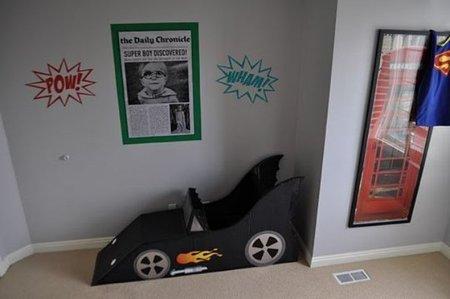 El batmovil del dormitorio de Rex