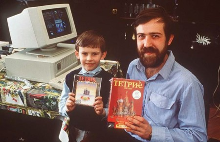 Alexey Pajitnov And Son 1989 C Sipa Press Usa