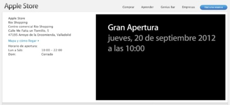 Confirmado: Valladolid abre su Apple Store este jueves 20 de septiembre