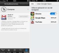 Gmail para iOS ya enlaza directamente con las aplicaciones de Google