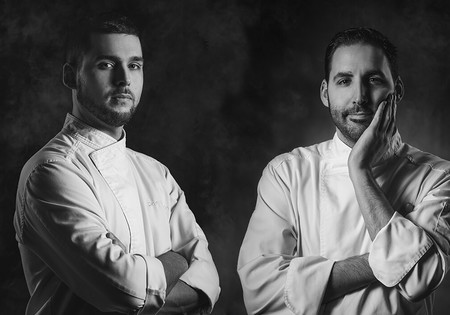 Daniel Guzmán y Julio Sotomayor, copropietarios de Nova Restaurante.