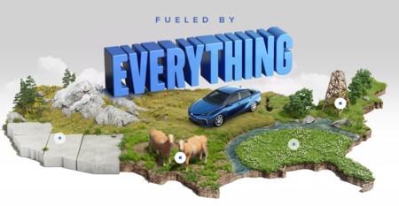 Esta es la imagen que Toyota está dando al Toyota Mirai en Estados Unidos