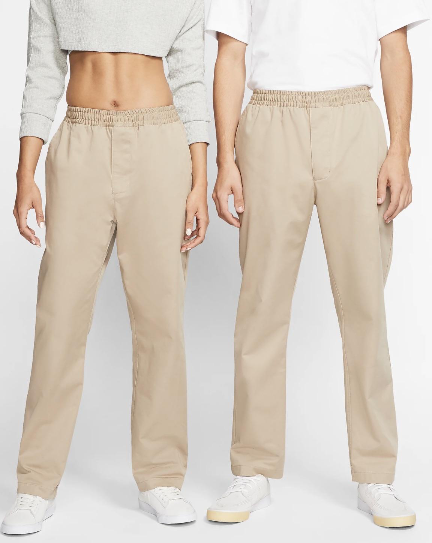 Pantalón chino Nike SB Dri-FIT que combina un diseño sin cierre con una cintura regulable para ofrecer una comodidad que se adapta a los movimientos.