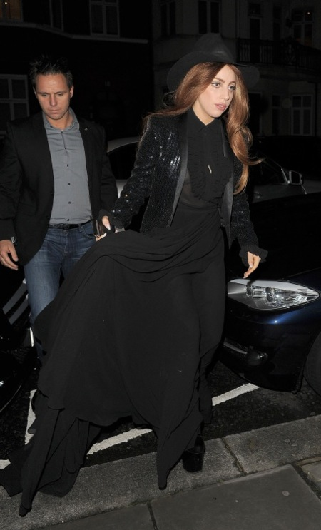 Lady Gaga Saint Laurent