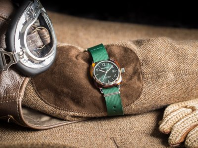 El espíritu sport chic de un reloj Briston