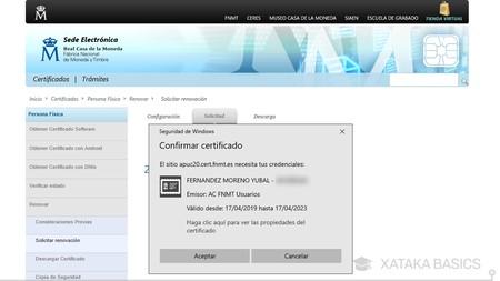 Elegir Certificado