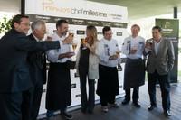 El cocinero gallego Pepe Solla ganador del Premio Chef Millesime by Cruzcampo Gran Reserva