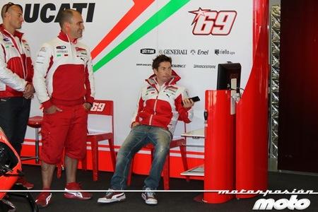 Nicky Hayden el más atrevido rodando en una última jornada lluviosa de test en Jerez