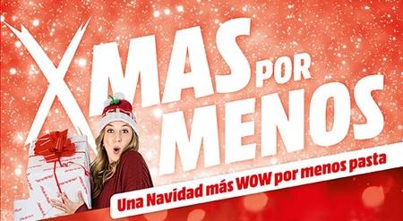 Xmas X Menos: nuevas ofertas de MediaMarkt para la semana de los regalos navideños