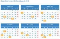 Disponible el calendario del contribuyente de la Agencia Tibutaria en formato iCalendar