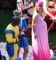 Heidi Klum y su fiesta de super héroes