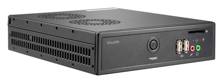Shuttle DS61, un barebone ultrafino para Ivy Bridge