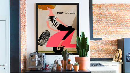 Integra antiguos iconos publicitarios en la decoración de tus paredes y aporta un toque Pop Art en tu hogar