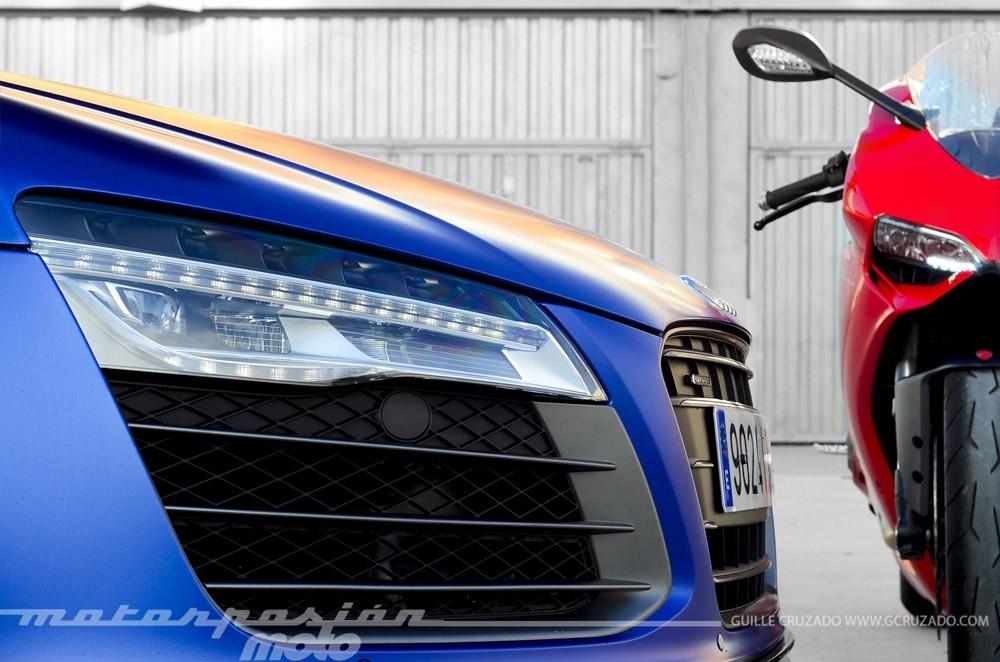 Foto de Ducati 899 Panigale Vs Audi R8 V10 Plus (4/24)