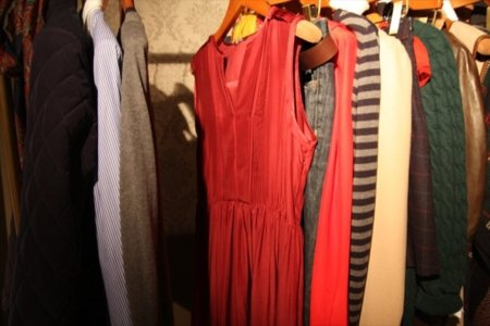 Vestido burdeos Massimo Dutti Otoño-Invierno 2011/2012