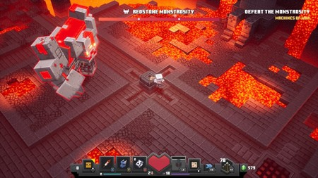 Minecraft: Dungeons: cómo derrotar a la Monstruosidad de Redstone