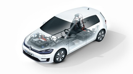 E Golf Cut Out E Golf 4litho Electric Powertrain