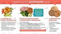 Infografía: alimentos contra el estrés
