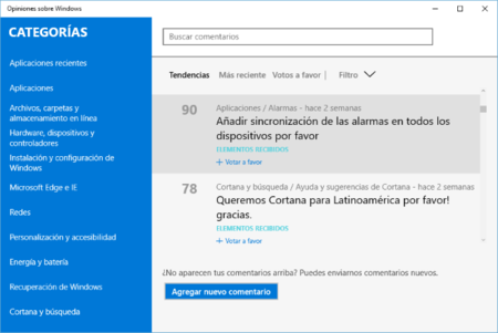 Opiniones Windows