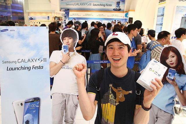 Lanzamiento Samsung Galaxy SIII Corea del Sur