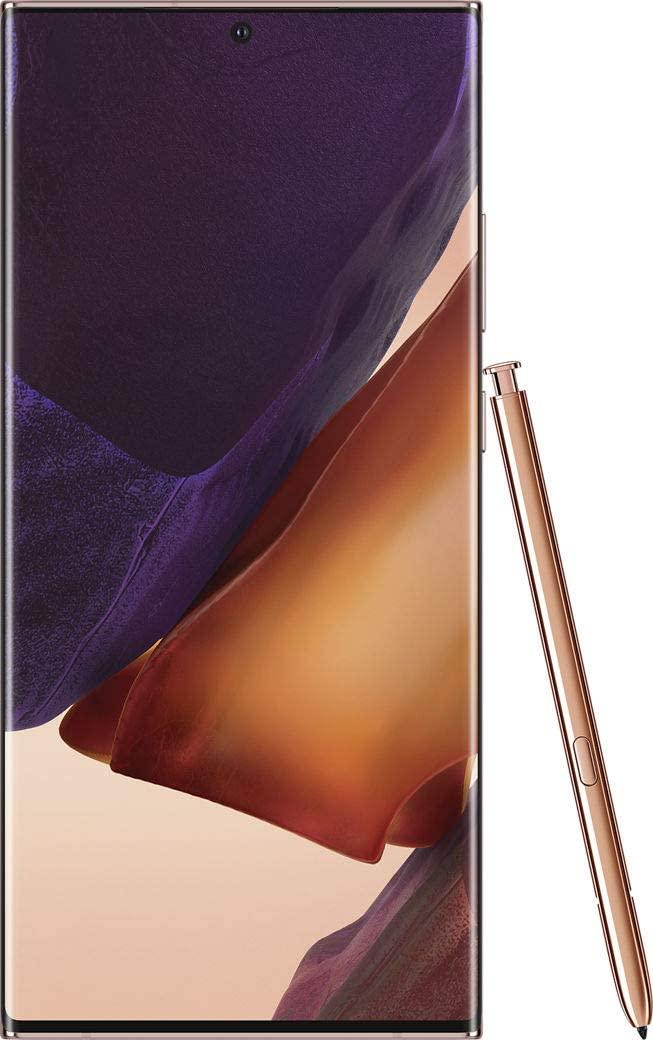 "SAMSUNG Galaxy Note 20 Ultra 256GB Dual Sim 8GB RAM SM-N985F/DS 6.9"" (Mystic Bronze)"