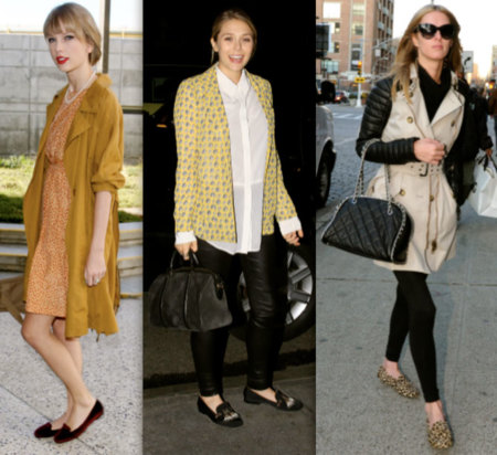 Slippers celebrities