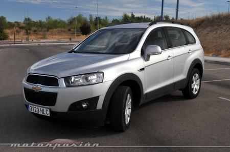 Chevrolet Captiva 2.2 VCDi FWD, prueba (equipamiento, versiones y seguridad)