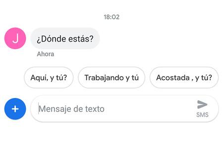 Google Mensajes: cómo desactivar la respuesta inteligente y acciones sugeridas