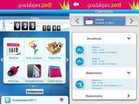 Aplicación de los Juegos Panamericanos Guadalajara 2011
