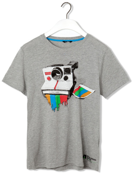 Pull and Bear camiseta retro 3