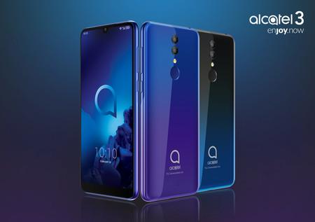 Alcatel 3: precio ajustado para un gama media con pantalla Full View y 3.500 mAh