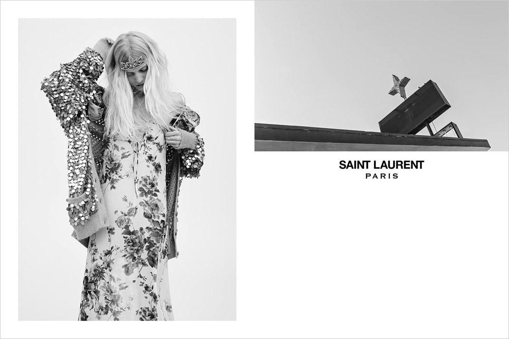 Saint Laurent campaña Primavera-Verano 2016