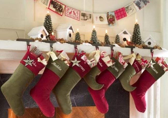 Regalos de Navidad en medias