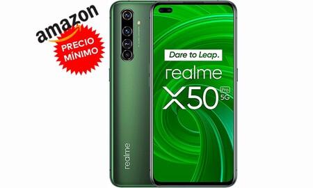 Hazte con el Realme X50 Pro 8GB+128GB a su precio más bajo hasta la fecha en Amazon: 494,66 euros con envío gratis