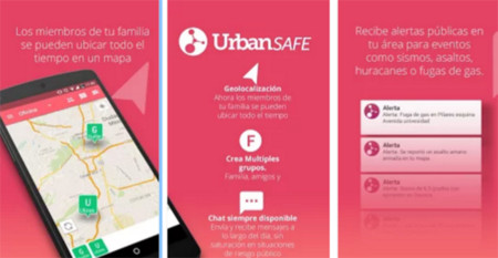 Apps Seguridad Urban Safe