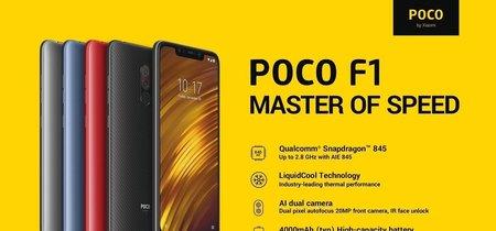 Desde España: Xiaomi PocoPhone F1 por sólo 279 euros utilizando este cupón de descuento