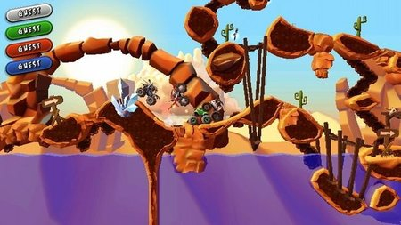 'MotoHeroz' ya se encuentra disponible en WiiWare. Los creadores de 'Trials HD' debutan en el servicio de Nintendo