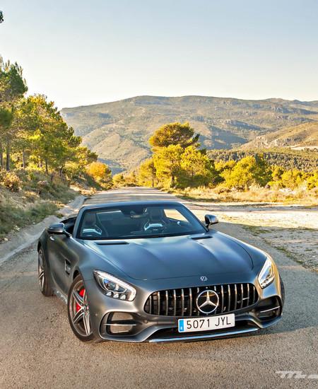 Prueba Mercedes AMG GT C Roadster