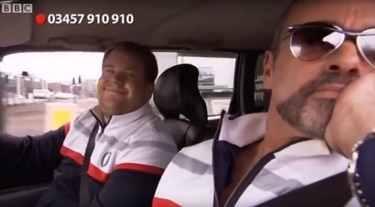 George Michael inspiró al famoso Carpool Karaoke de James Corden