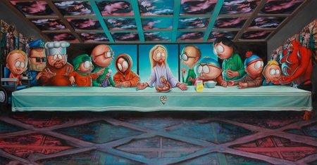 'South Park' celebra su aniversario con una exposición, la imagen de la semana