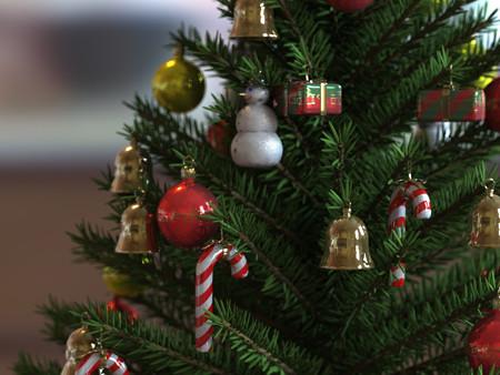 ideas baratas para decorar el rbol de navidad