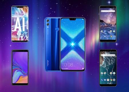 Honor 8X, comparativa: así queda frente a sus rivales directos como el Xiaomi Mi A2, Huawei Mate 20 Lite o Nokia 7 Plus