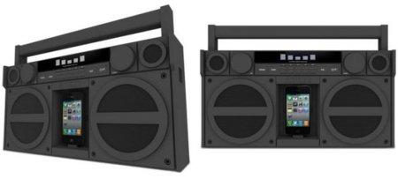 iHome iP4, el boombox del siglo XXI