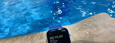 Entrenar con el Apple Watch Series 4, así se comporta dentro de la piscina y en carreras
