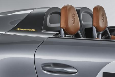 Porsche 911 Speedster Concept asientos